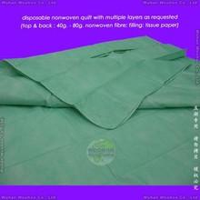 disposable non-woven quilt, disposable nonwoven quilt, disposable non woven quilt