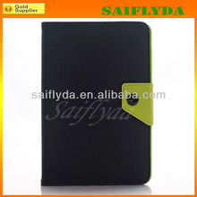 High Quality Korean Style Book Flip Belt Clip for iPad Mini Case
