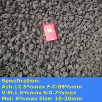 Nut Coke/ Met coke/Metallurgical coke 10-20mm