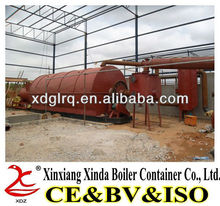High Oil Yield XDZ-G5-10 tons Waste Rubber/Tire Recycling Machine