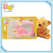 wholesale funny designer baby pacifier with chain clip