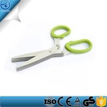best selling kitchen hand tools,5 blades herb scissors,onion scissors