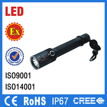 IP67 led torch light rechargeable led emergency torch light explosion proof rechargeable handlamp