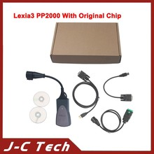 2015 A+++ lexia 3 citroen peugeot diagnostic tool PP2000 V25 with Diagbox V7.57 Software Support Peugeot 307 with Original Chip