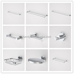 Chinese OEM factory top sell new design high quality metal bathroom accessory sets