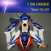 Hot sale Racing Motorcycle ABS plastic body cover for Honda CBR1000RR 2004 2005 04 05
