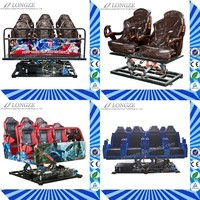 Alibaba Hydraulic/Electric 5D Theater Simulator For Amusement Park