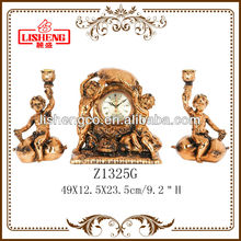 Resin angel statue candle stick candle holder resin craft Z1325G