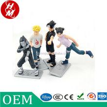 Custom in plastica pvc figura naruto, fare figure anime, action figure di fabbrica