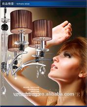 nuevo estilo moderna lámpara de araña, Luces colgantes y lámpara pendiente cristalina / lámpara de techo de la lámpara