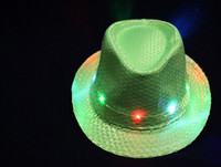 Party favor flashing led hat