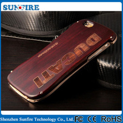 DUCATI Ventare Deff Motorcycle Racing Design small wrist wood case for iPhone 6