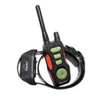 Petrainer dog vibrate and shock training collar