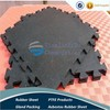 Puzzle Rubber Gym Flooring mat/Crossfit Flooring/Interlock Rubber Mat