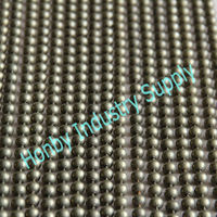 10mm antique bronze plated metal ball curtain