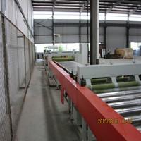 Gypsum ceiling board making machine