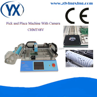 Low Budget Electronic Products Machinery Pick and Place Relow Oven BGA Chip Reball Machine
