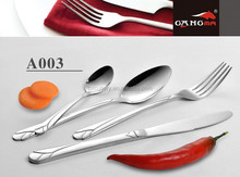 A003 High-class stainless steel cutlery set ,Knife and Fork