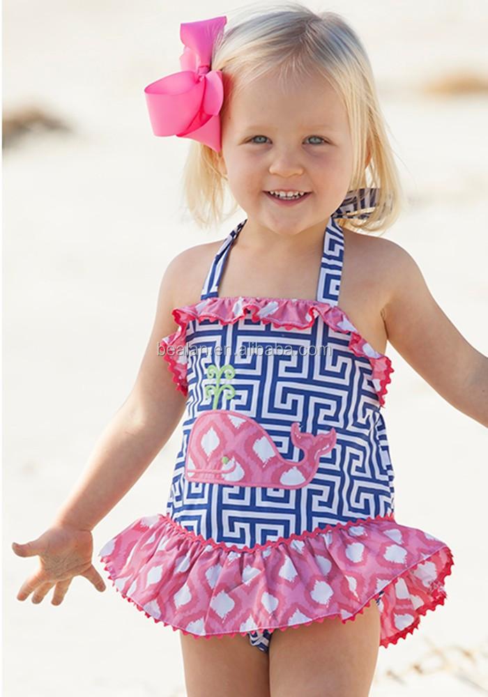Boutique Wholesale Children Bikinis Swimwear Suit Cute ...