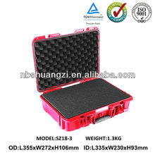shockproof plastic medical emergency case