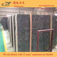 Natural Stone Italy Gray Marble Slabs Modern House Decoration