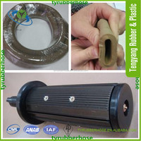 Flexible air shaft used pure natural rubber hose