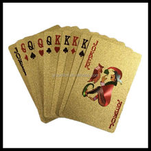 Vintage 24k gold playing card for sale