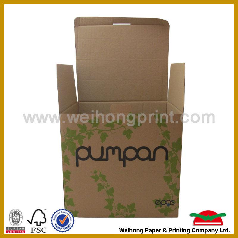 Ecofriendly Heavy duty corrugated mail packing box