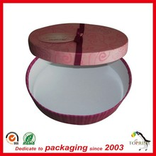 Custom made paper cardboard packaging round box for can candle biscuit food gift wholesale manufacturer