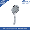 "Connected dimension G1/2"" plastic bathroom round handheld shower head"
