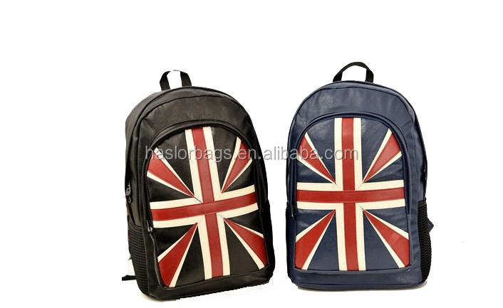 Personnalisé mode et imperméable Pu sac à dos transparent pour gros