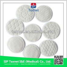Cosmetic Cotton Pad CE&ISO Disposable 100% Cotton Facial Pad,Round Cotton Pad