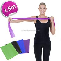 Trade Assurance 1.5m Natural Latex Crossfit Stretch Yoga Fitness Resistance Band