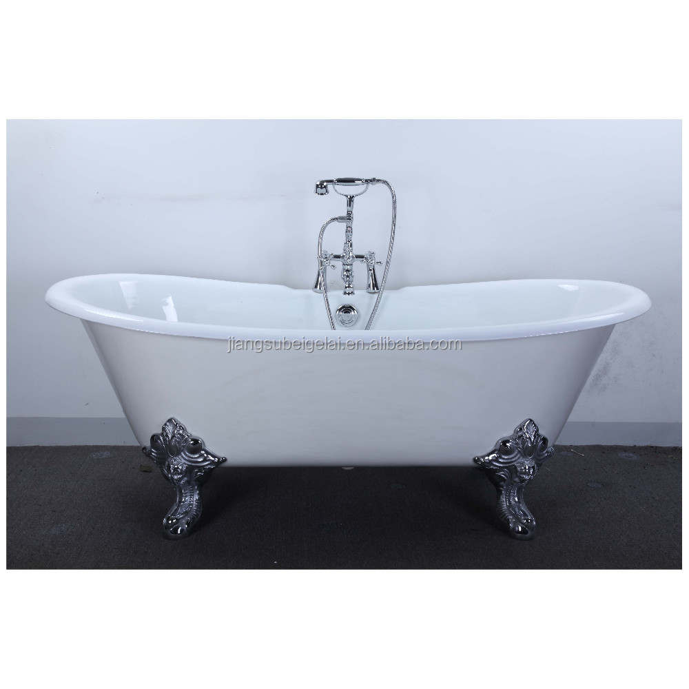 vintage bath and tub with big clawfoot made from cast iron buy vintage bath. Black Bedroom Furniture Sets. Home Design Ideas
