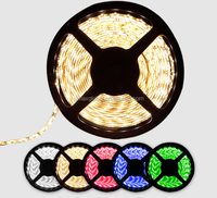 12V low pressure LED Strips 5050-60DRGB Glue 7 colors flashing changing colors waterproof with ce rohs certification xmas gift
