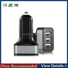 3 USB ports output car charger, 7.2A for iPhone/Samsung/iPad