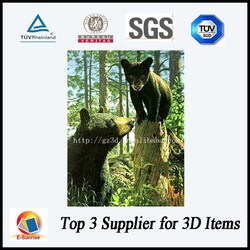 eco-friendly 3d pictures for decoration with high quality