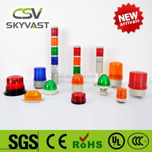Manufacture warning light IP30 blue red tower lights yellow green flash traffic light blinker