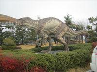 Jurrasic park life size dinosaur statue for sale