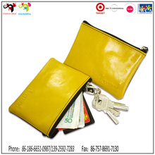 Kids small coins pouch , pvc coin purse with keyring
