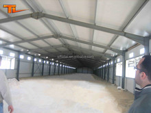 Galvanized Structure Steel Warehouse/Factory Real Estate