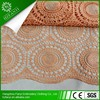 Unique design cord lace fabric bridal wedding dress