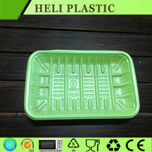 Factory bulk price disposable plastic fresh fruit and vegetable tray