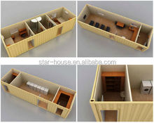 relocatable prefabricated container house for hotel,office,apartment,toilet,shop&camp