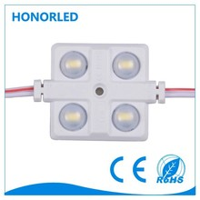 4pcs smd2835, 0.96w,12v,round lens; injection best cost performance led module !