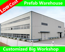 cost of warehouse construction /concrete prefabricated warehouse