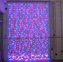 made in china long curtain lights for wedding