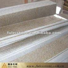golden granite step