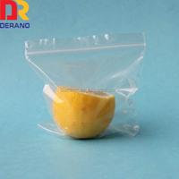 Top printed custom stand up waterproof custom freezer zip lock bag