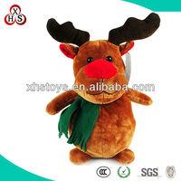 2014 best quality singing christmas animated electronic plush toys